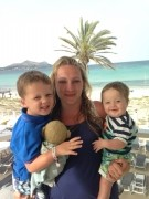 Kian, Mummy & Isaac